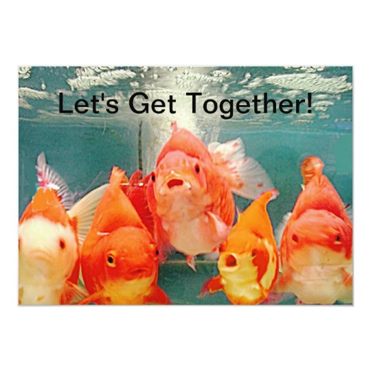 INVITATION - LETS GET TOGETHER CUSTOMIZE BY ARA