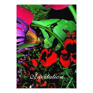 Invitation Magical Night Flowers