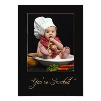 INVITATION - MULTI PURPOSE - BABY AS CHEF
