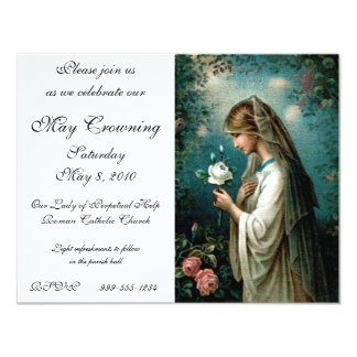 Invitation: Mystical Rose 11 Cm X 14 Cm Invitation Card