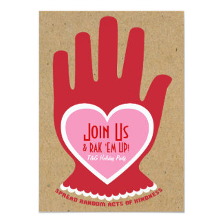 Invitation: Random Act of Kindness in Pink 11 Cm X 16 Cm Invitation Card
