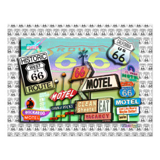Invitation - Route 66 The Mother Road 18SQ
