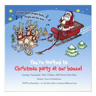 Invitation Santa Claus no 11