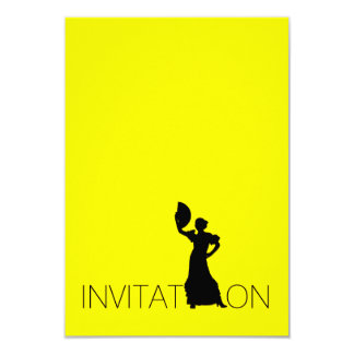 Invitation Tango Flamenco Latin Dance