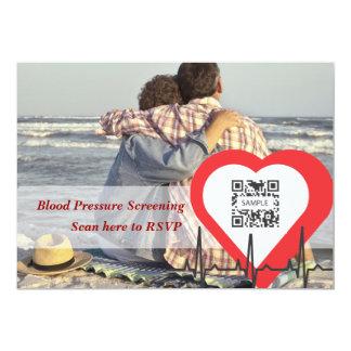 Invitation Template Heart Health
