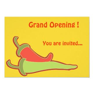 Invitation Template Mexican Restaurant