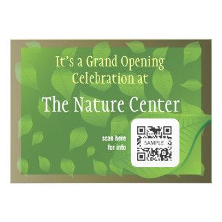 Invitation Template Nature Center