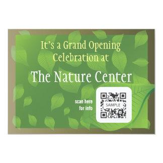 Invitation Template Nature Centre