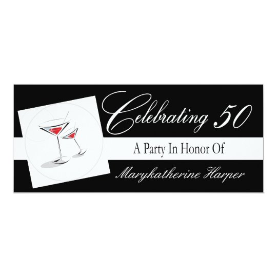 Invitation to a 50th Birthday Party
