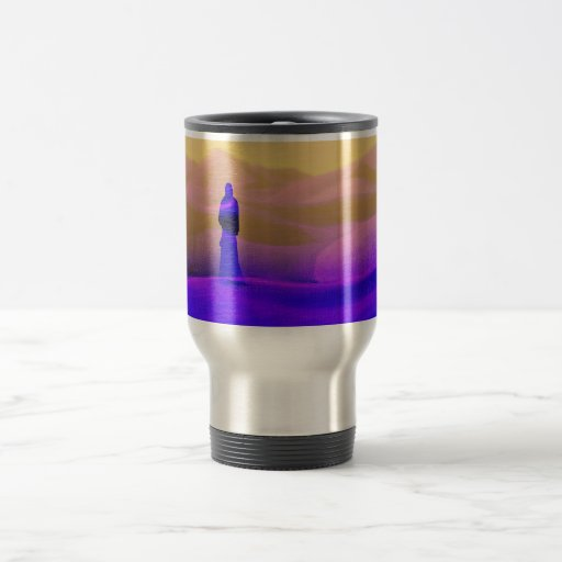 Invitation to a dream stainless steel travel mug