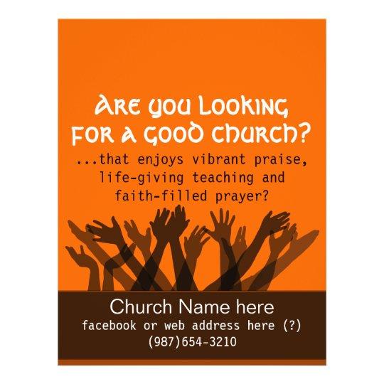 Church Invitation Flyer Grude Interpretomics Co