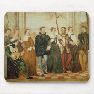 Invitation to the Dance, 1570 Mouse Mat