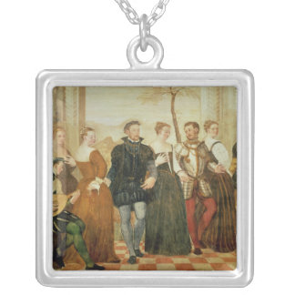 Invitation to the Dance, 1570 Silver Plated Necklace
