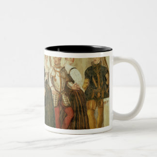 Invitation to the Dance, 1570 Two-Tone Coffee Mug