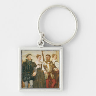 Invitation to the Dance Key Ring
