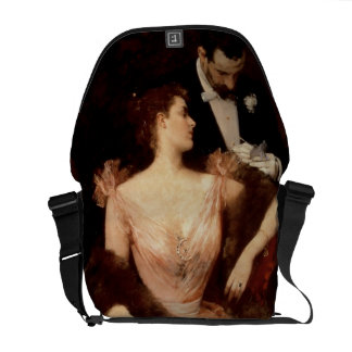 Invitation to the Waltz, 1895 (oil on canvas) Commuter Bag
