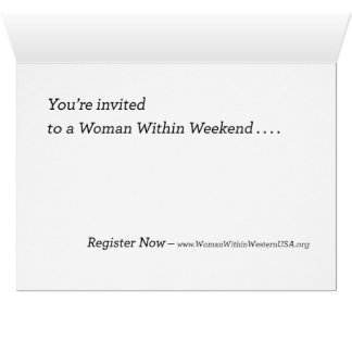 Invitation to the Woman Within Weekend