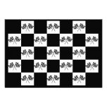Invitations Any Auto Racing Chequered Flags Indy