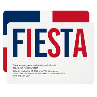 Invitations: Dominican Repubublic: Dominican Flag Card