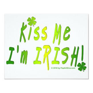 INVITATIONS - Kiss Me, I'm IRISH