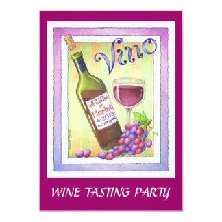 INVITATIONS - VINO!  You Had Me at MERLOT!