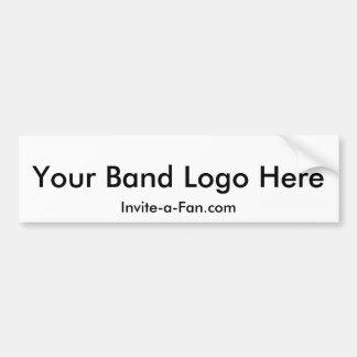 Invite-a-Fan Bumper Sticker