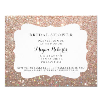 Invite - Bridal Shower Day Fab - Rose Gold 2