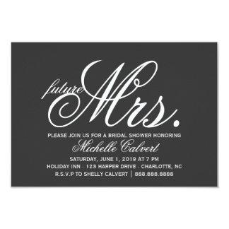 Invite - future Mrs.