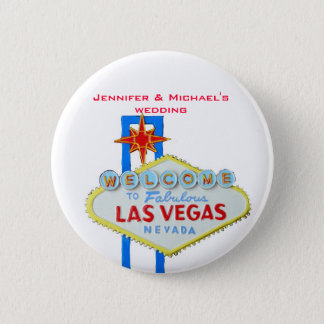 Invited Guest Name Tag Las Vegas Parties 6 Cm Round Badge