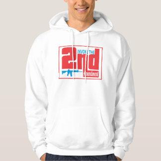 Invoke the 2nd, Men's Basic Hooded Sweatshirt