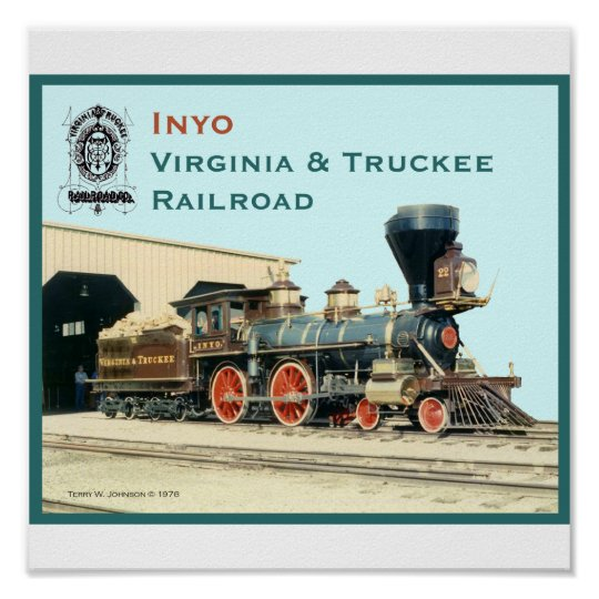 Inyo- Virginia and Truckee Railroad print