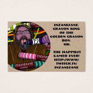Inzanesane's Crayon Business Card