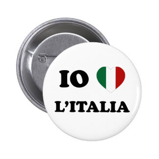 Io Amo Italia Buttons