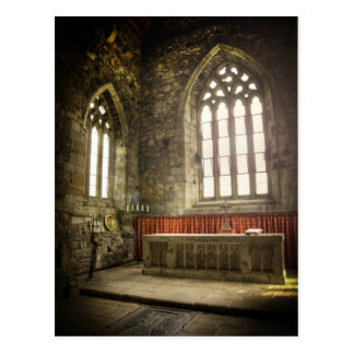 Iona Abbey Altar Postcard
