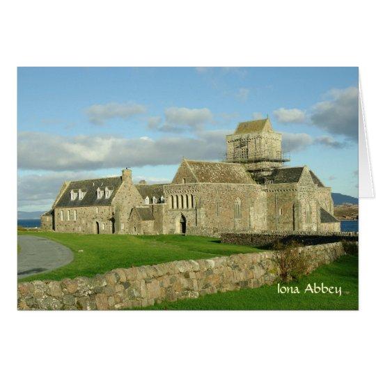 Iona Abbey Card