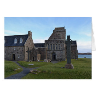 Iona Abbey Card