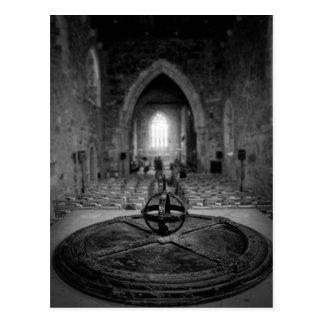 Iona Abbey Interior Postcard