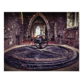 Iona Abbey Print Photo Print