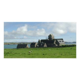 Iona Abbey Scotland Card