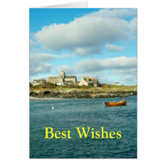 Iona Abbey Scotland Card
