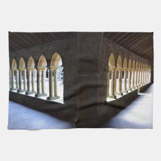 Iona Abbey Tea Towel
