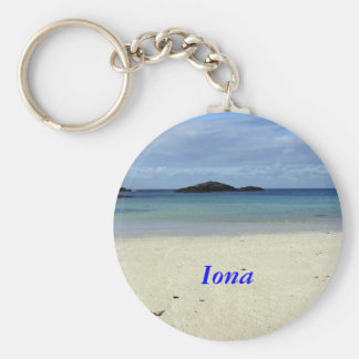 Iona Beach Key Ring