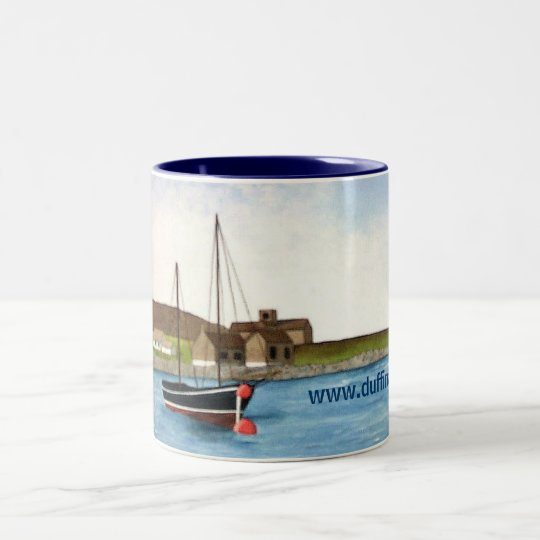 Iona, Scotland Two-Tone Coffee Mug