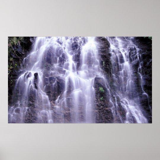 Ione Falls, British Columbia, Canada Poster