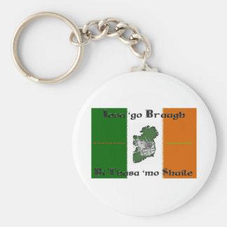 Iosa go Braugh Button Keychain