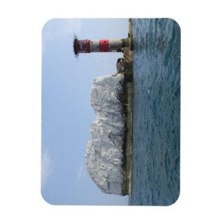 IOW, Isle of Wight, Needles Rectangular Photo Magnet