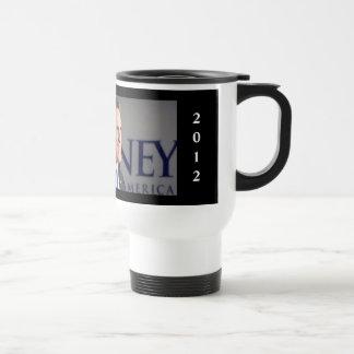IOWA 2012 Romney Photo Travel MugMug Stainless Steel Travel Mug