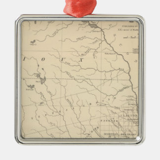 Iowa 2 christmas ornament