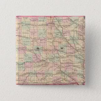 Iowa 3 15 cm square badge