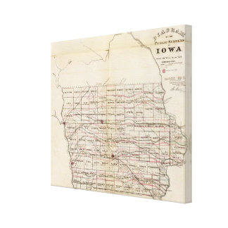 Iowa 3 canvas print
